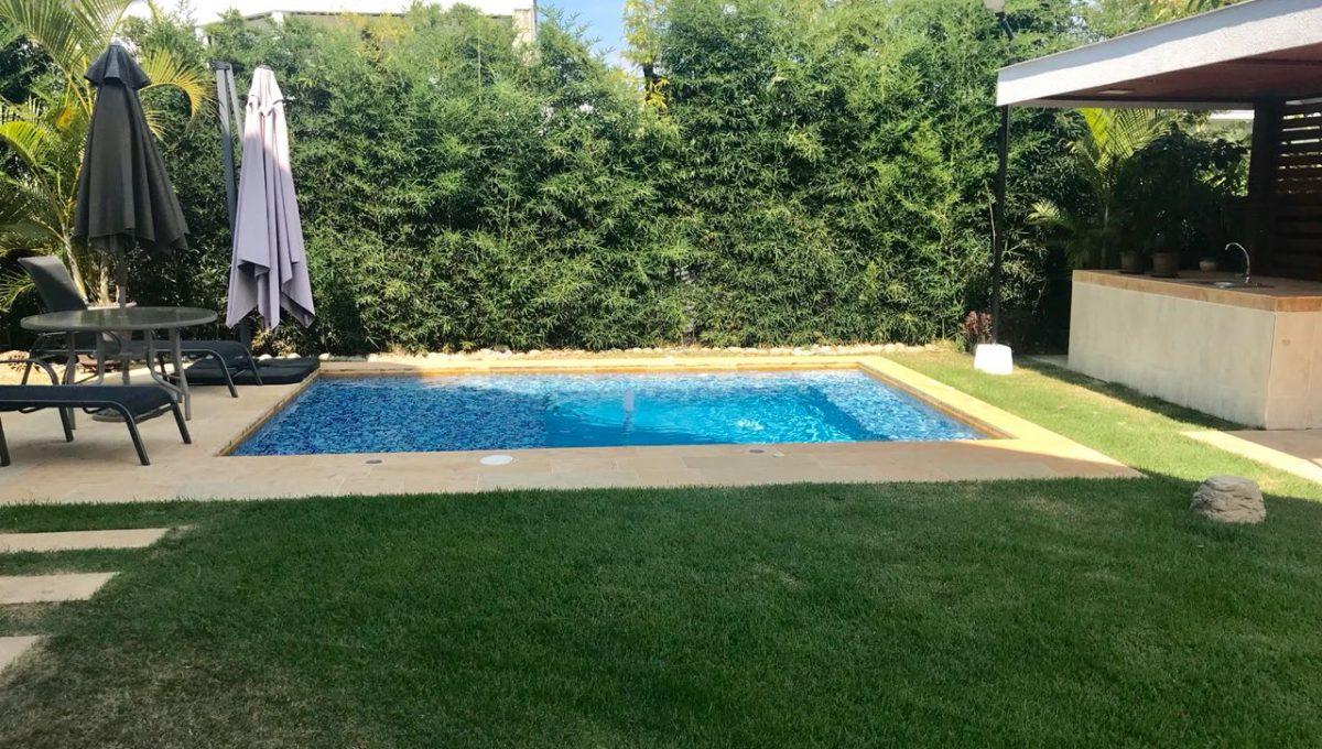 piscina casa en venta en pance